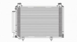 2003-2004 Scion xA A/C (AC) Condenser