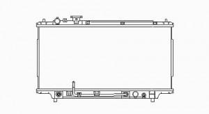 1995-1998 Mazda Protege Radiator (1.5L / 1.8L)