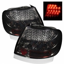 1996-2001 Audi A4 LED Tail Lights (PAIR) - Smoke (Spyder Auto)