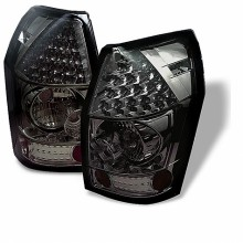2005-2008 Dodge Magnum LED Tail Lights (PAIR) - Smoke (Spyder Auto)