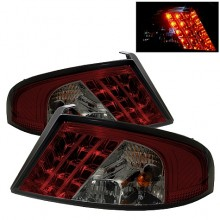 2001-2006 Dodge Stratus 4Dr LED Tail Lights (PAIR) - Red Smoke (Spyder Auto)