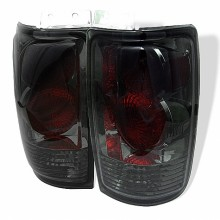 1997-2002 Ford Expedition Euro Style Tail Lights (PAIR) - Smoke (Spyder Auto)