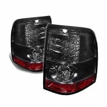 2002-2005 Ford Explorer 4Dr (Except Sport Trac) LED Tail Lights (PAIR) - Smoke (Spyder Auto)