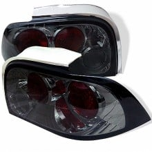 1994-1995 Ford Mustang Euro Style Tail Lights (PAIR) - Smoke (Spyder Auto)