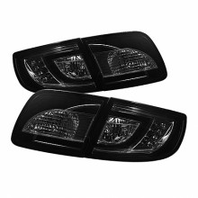2003-2008 Mazda 3 4Dr Sedan ( Non Hatchback ) LED Tail Lights (PAIR) - Smoke (Spyder Auto)
