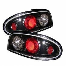 1993-1997 Nissan Altima Euro Style Tail Lights (PAIR) - Black (Spyder Auto)
