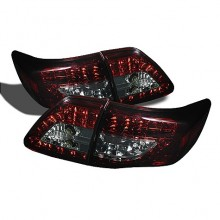 2009-2010 Toyota Corolla ( LED Indicator ) LED Tail Lights (PAIR) - Red Smoke (Spyder Auto)