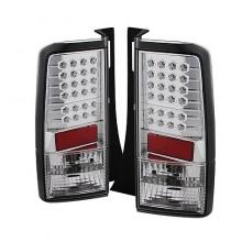 2003-2007 Scion XB LED Tail Lights (PAIR) - Chrome (Spyder Auto)