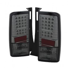2003-2007 Scion XB LED Tail Lights (PAIR) - Smoke (Spyder Auto)