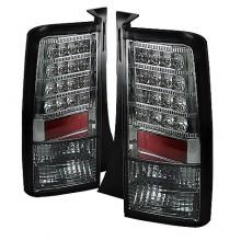 2003-2007 Scion XB Version 2 LED Tail Lights (PAIR) - Smoke (Spyder Auto)