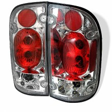 2001-2004 Toyota Tacoma Euro Style Tail Lights (PAIR) - Chrome (Spyder Auto)
