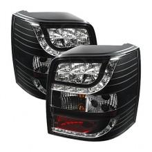 2001-2005 Volkswagen Passat 5Dr LED Tail Lights (PAIR) - Black (Spyder Auto)