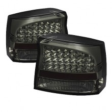 2009-2020 Dodge Charger 2010 LED Tail Lights (PAIR) - Smoke (Spyder Auto)