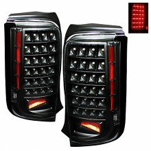 2008-2010 Scion XB LED Tail Lights (PAIR) - Black (Spyder Auto)