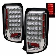 2008-2010 Scion XB LED Tail Lights (PAIR) - Chrome (Spyder Auto)