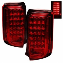 2008-2010 Scion XB LED Tail Lights (PAIR) - Red (Spyder Auto)