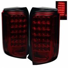2008-2010 Scion XB LED Tail Lights (PAIR) - Red Smoke (Spyder Auto)