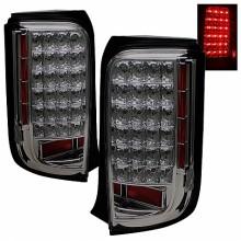 2008-2010 Scion XB LED Tail Lights (PAIR) - Smoke (Spyder Auto)