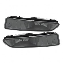 2002-2003 Acura TL OEM Fog Lights (PAIR) (Housing Only) - Smoke (Spyder Auto)
