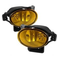 2007-2008 Acura TL OEM Fog Lights (PAIR) (Housing Only) - Yellow (Spyder Auto)