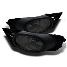 2009-2011 Honda Civic 4Dr OEM Fog Lights (PAIR) - Smoke (Spyder Auto)