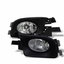 2003-2005 Honda Accord 4Dr OEM Fog Lights (PAIR) - Clear (Spyder Auto)