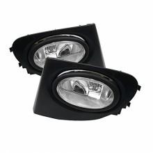 2002-2005 Honda Civic SI 3Dr 3DR OEM Fog Lights (PAIR) - Clear (Spyder Auto)
