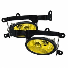 2006-2008 Honda Civic 2Dr OEM Fog Lights (PAIR) - Yellow (Spyder Auto)
