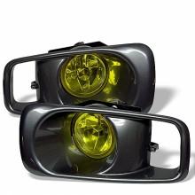 1999-2000 Honda Civic OEM Fog Lights (PAIR) - Yellow (Spyder Auto)