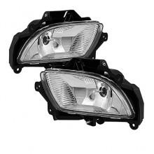 2009-2020 Hyundai Sonata 2010 OE Style Fog Lights (PAIR) - Clear (Spyder Auto)