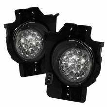 2008-2010 Nissan Altima 2Dr LED Fog Lights (PAIR) - Clear (Spyder Auto)