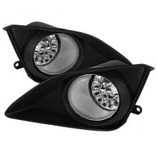2009-2010 Toyota Corolla LED Fog Lights (PAIR) - Clear (Spyder Auto)