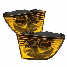 2001-2005 Lexus IS300 OEM Fog Lights (PAIR) (Housing Only) - Yellow (Spyder Auto)