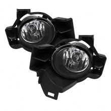 2010-2012 Nissan Altima 4Dr OEM Fog Lights (PAIR) - Clear (Spyder Auto)