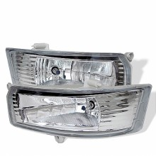 2005-2006 Toyota Camry OEM Fog Lights (PAIR) - Clear (Spyder Auto)