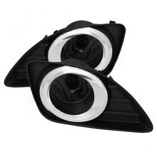 2010-2011 Toyota Camry OEM Fog Lights (PAIR) - Smoke (Spyder Auto)