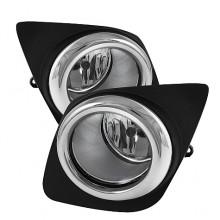 2009-2011 Toyota RAV4 OEM Fog Lights (PAIR) - Clear (Spyder Auto)