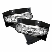 1999-2004 Ford Mustang OEM Fog Lights (PAIR) (Housing Only) - Chrome (Spyder Auto)