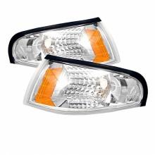 1994-1998 Ford Mustang Amber Corner Lights (PAIR) - Euro (Spyder Auto)