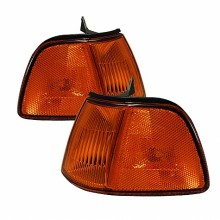 1990-1991 Honda Civic 3Dr Corner Lights (PAIR) - Amber (Spyder Auto)