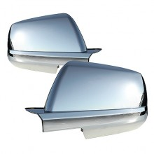 2007-2012 Toyota Tundra Mirror Cover - Chrome (Spyder Auto)