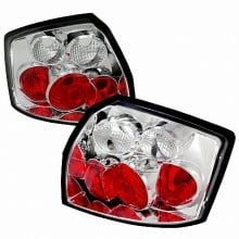 2002-2005 AUDI A4 ALTEZZA TAIL LIGHTS (PAIR) CHROME (Spec-D Tuning)
