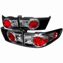 2003-2005 HONDA ACCORD ALTEZZA TAIL LIGHTS (PAIR) BLACK (Spec-D Tuning)