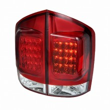 2005-2012 NISSAN ARMADA LED TAIL LIGHTS (PAIR) RED (Spec-D Tuning)