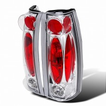 1999-2000 CADILLAC ESCALADE ALTEZZA TAIL LIGHTS (PAIR) CHROME (Spec-D Tuning)