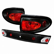 2003-2005 CHEVY CAVALIER ALTEZZA TAIL LIGHTS (PAIR) CHROME (Spec-D Tuning)