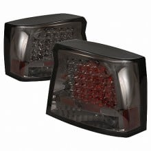 2005-2008 DODGE CHARGER LED TAIL LIGHTS (PAIR) SMOKE (Spec-D Tuning)