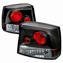 2005-2008 DODGE CHARGER ALTEZZA TAIL LIGHTS (PAIR) BLACK (Spec-D Tuning)