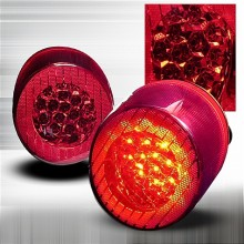 2005-2010 CHEVY COBALT LED TAIL LIGHTS (PAIR) RED (Spec-D Tuning)