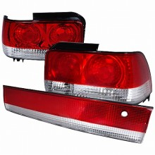 1993-1997 TOYOTA COROLLA ALTEZZA TAIL LIGHTS (PAIR) CHROME (Spec-D Tuning)